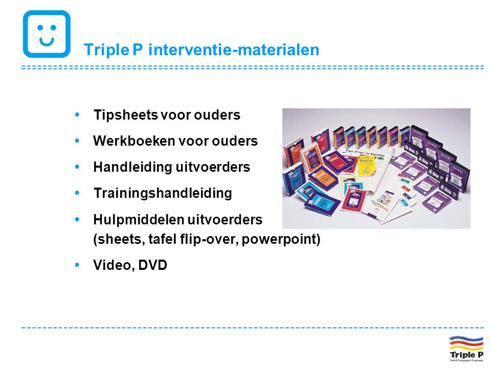 Triple P interventie-materialen