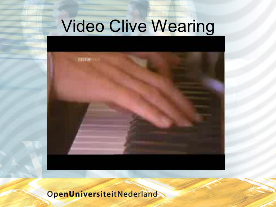 Video Clive Wearing