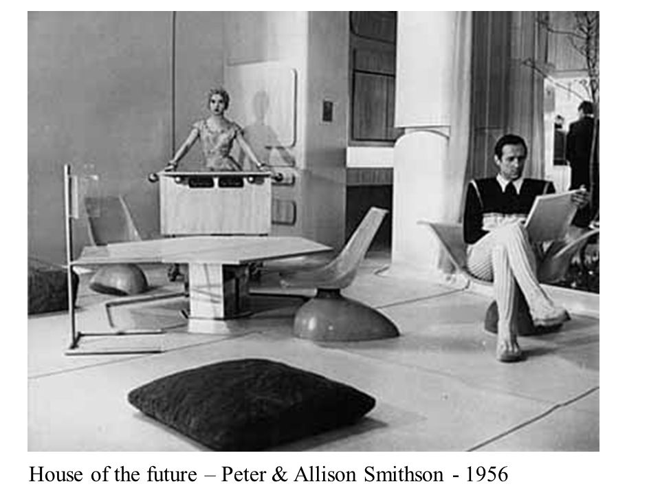 House of the future – Peter & Allison Smithson - 1956