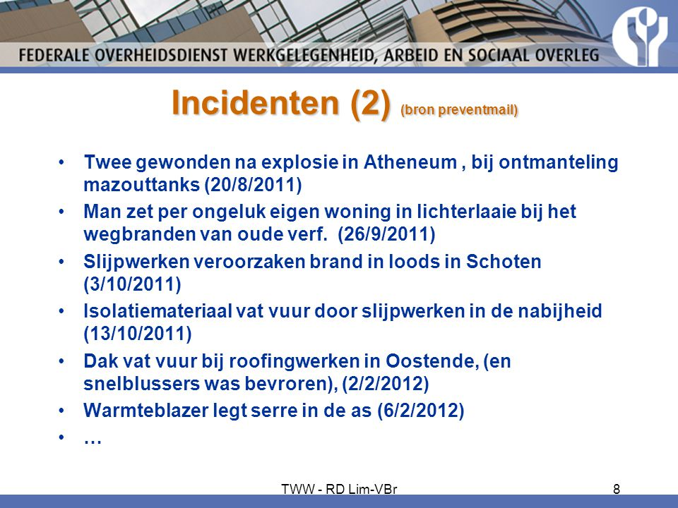 Incidenten (2) (bron preventmail)