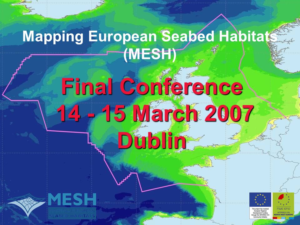 Mapping European Seabed Habitats (MESH)