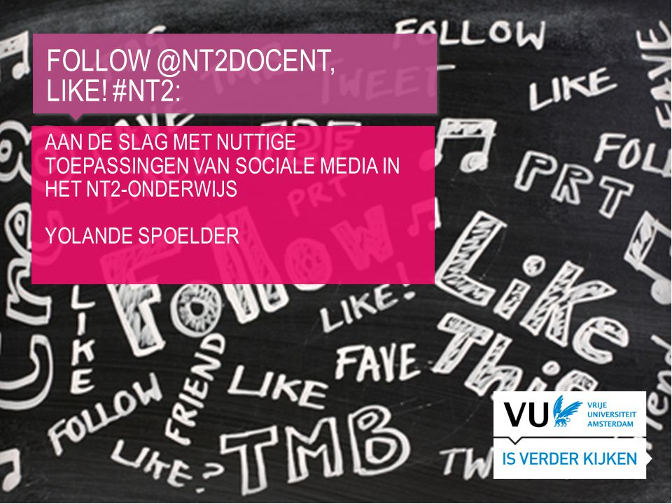 Follow @nt2docent, Like! #Nt2: