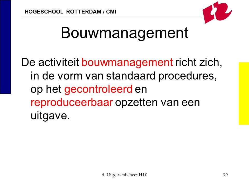 Bouwmanagement