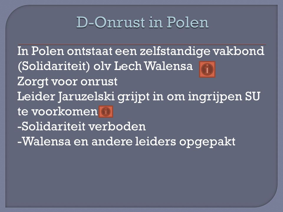 D-Onrust in Polen