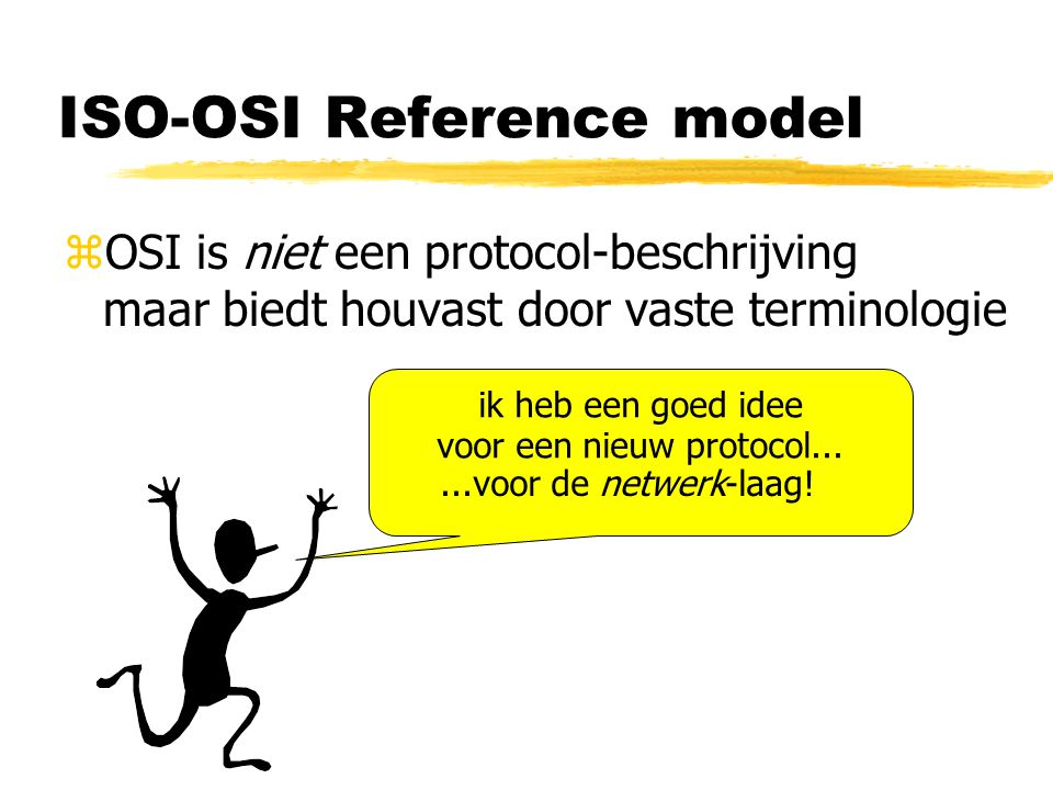 ISO-OSI Reference model