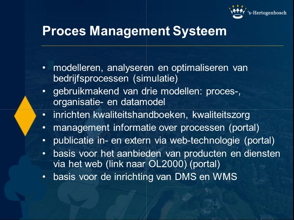 Proces Management Systeem