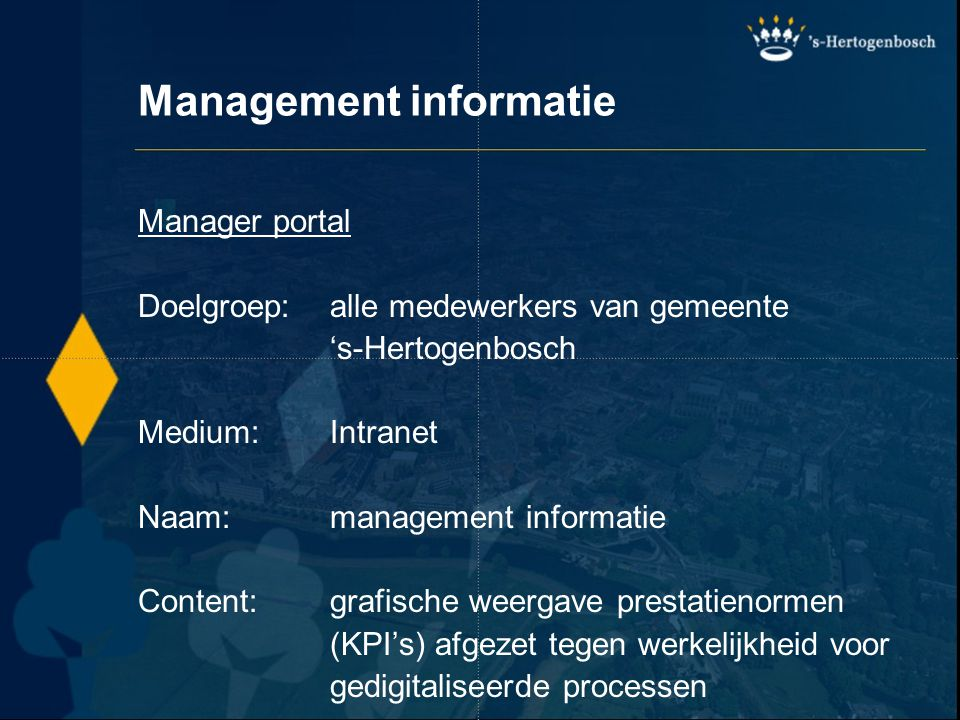 Management informatie