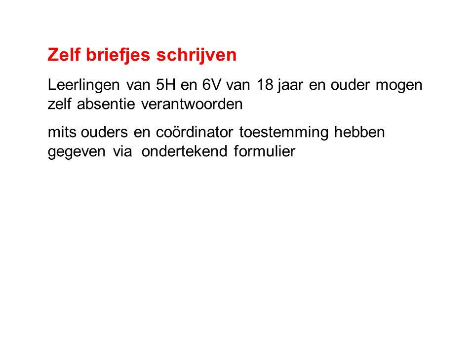 toestemming brief schrijven Informatie ouders en leerlingen 5H/6V 2012/ ppt download