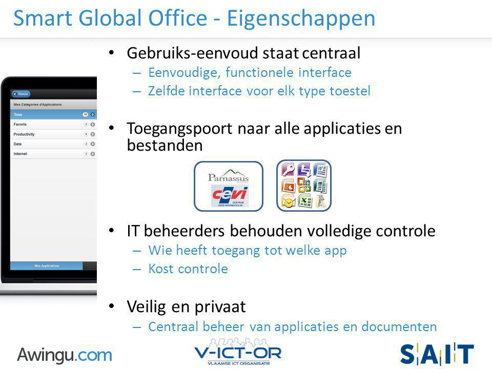 Smart Global Office - Eigenschappen