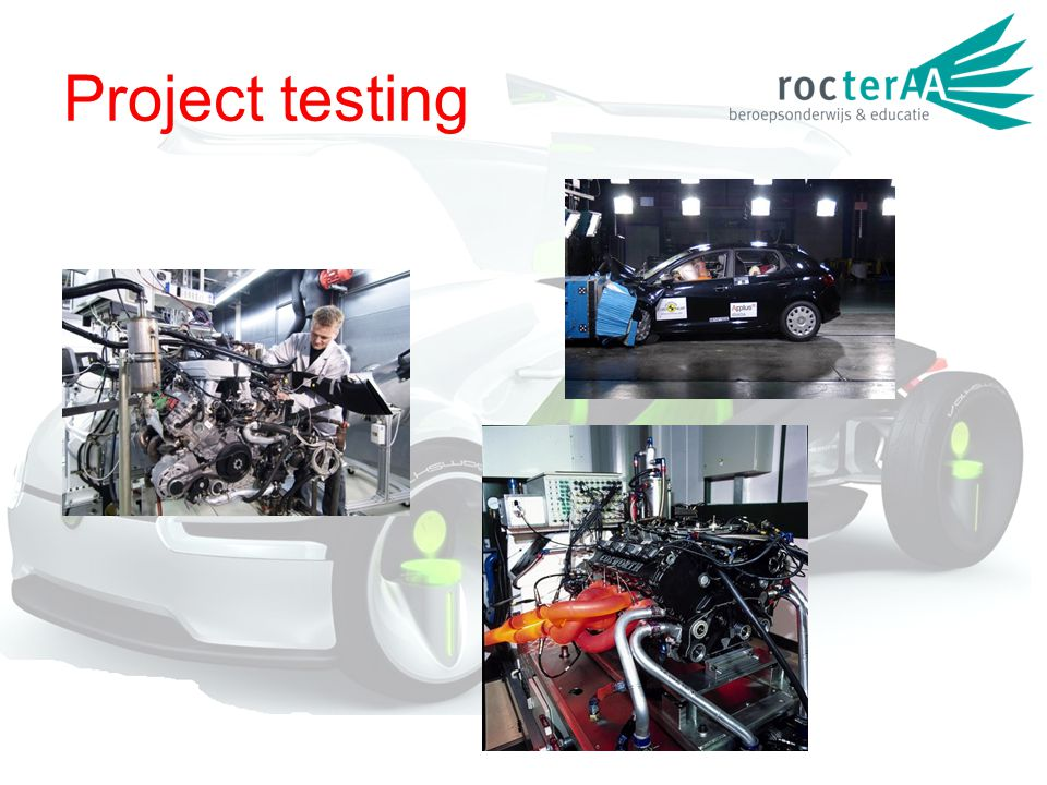 Project testing