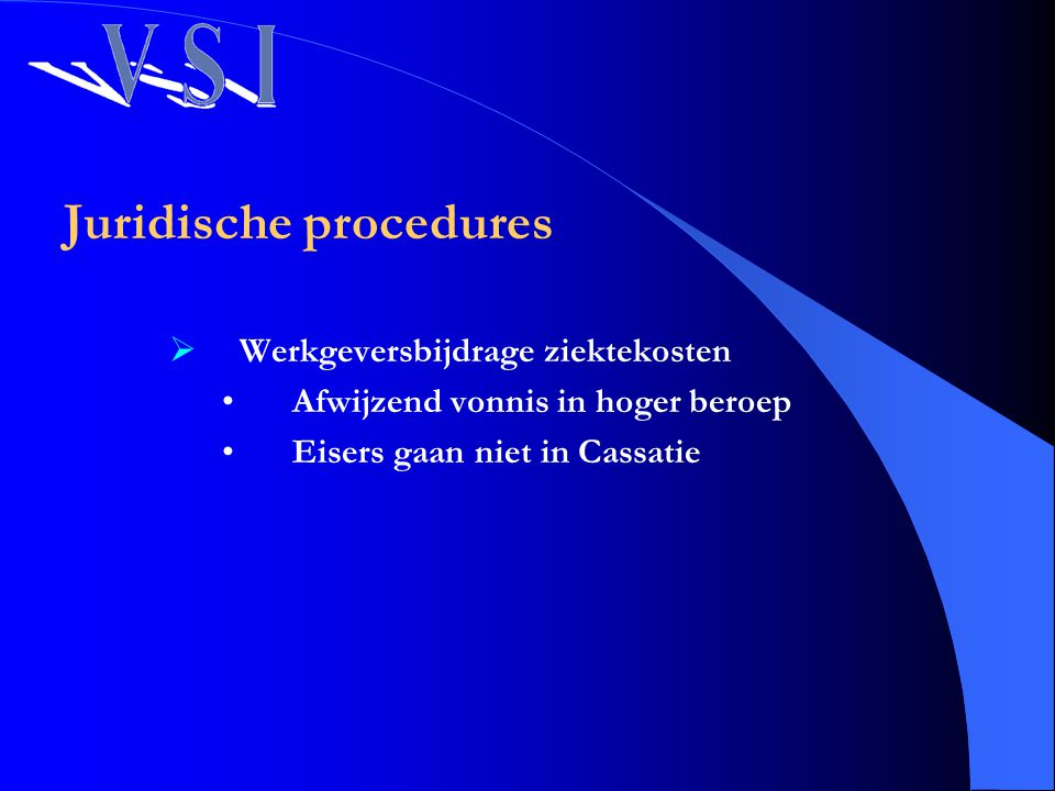 Juridische procedures