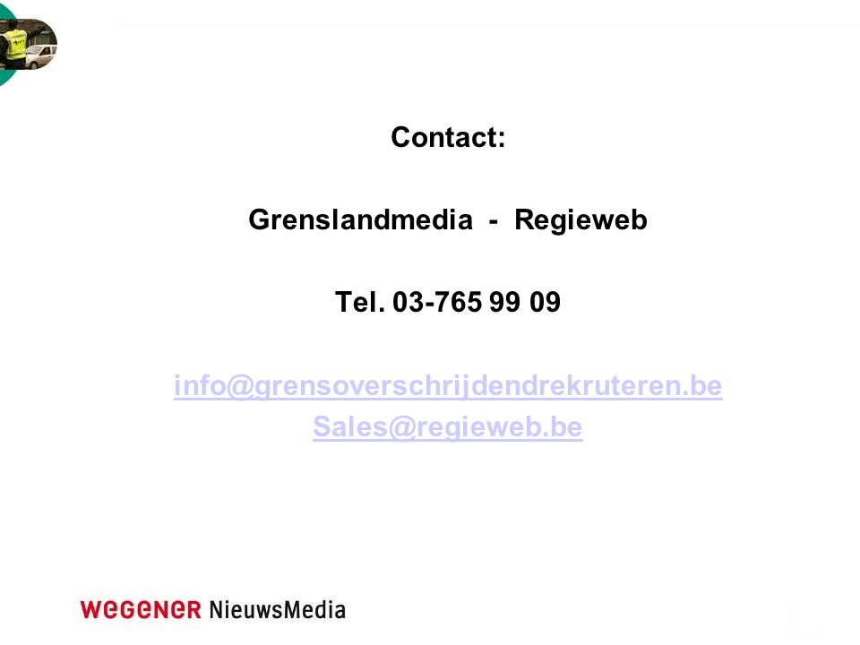 Grenslandmedia - Regieweb