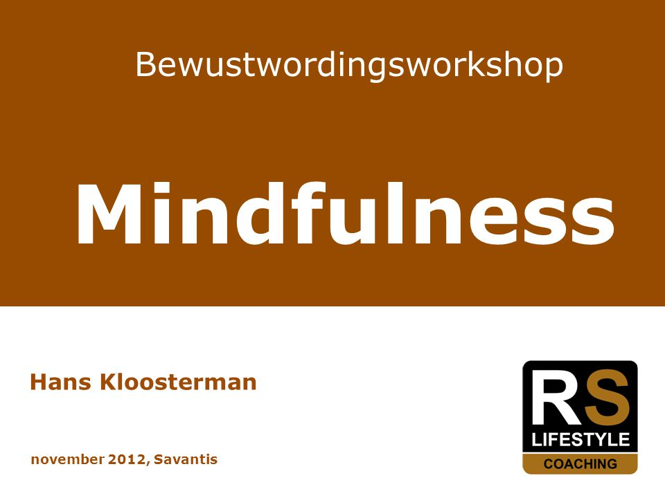 Bewustwordingsworkshop