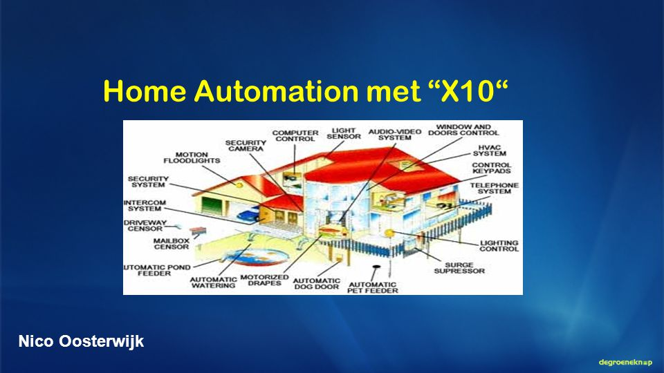 Home Automation met X10