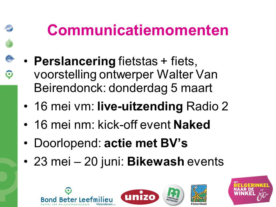 Communicatiemomenten