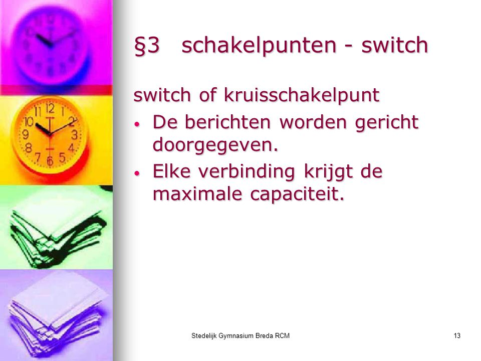 §3 schakelpunten - switch