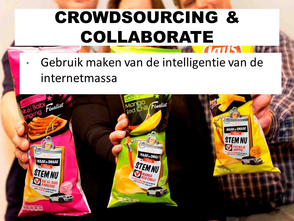 CROWDSOURCING & COLLABORATE