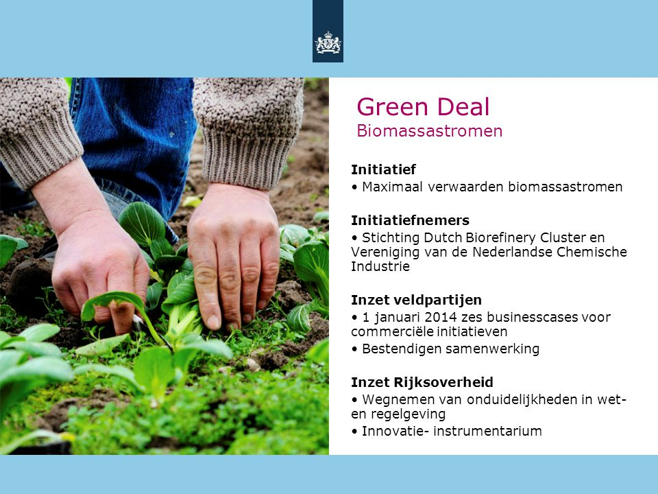 Green Deal Biomassastromen