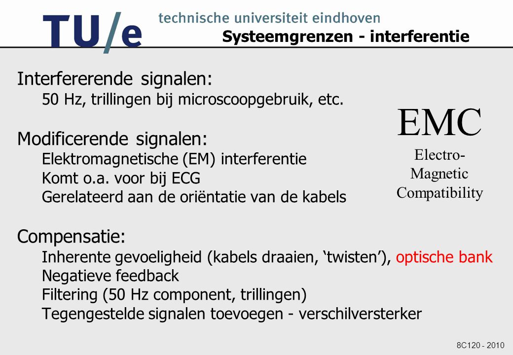 Systeemgrenzen - interferentie