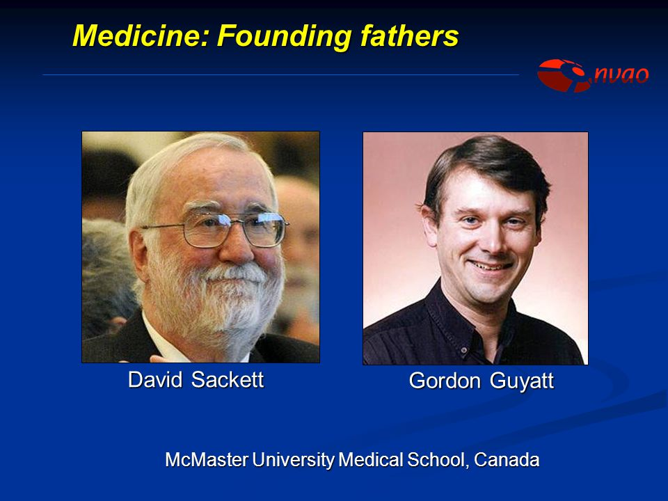 Medicine: Founding fathers