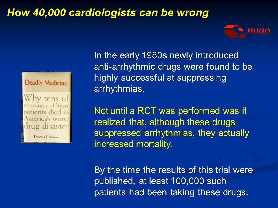 How 40,000 cardiologists can be wrong