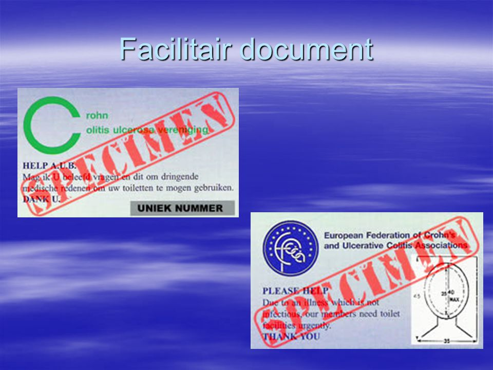 Facilitair document