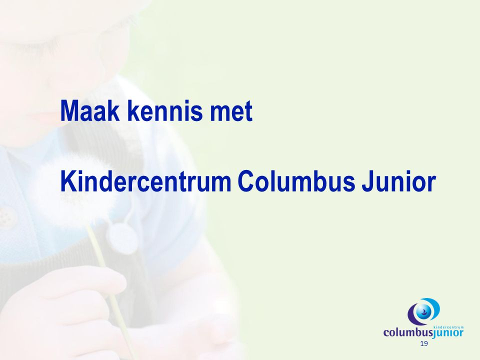 Kindercentrum Columbus Junior