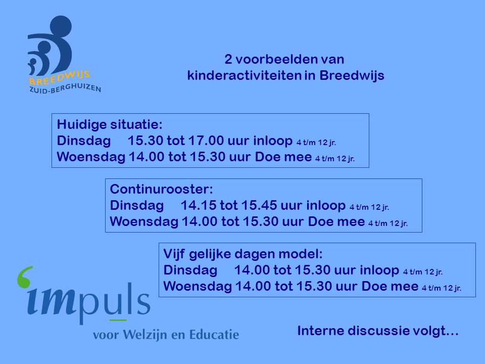 kinderactiviteiten in Breedwijs