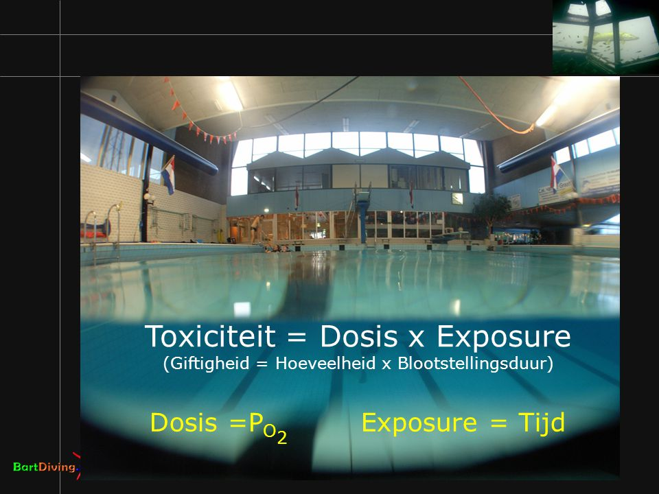 Toxiciteit = Dosis x Exposure