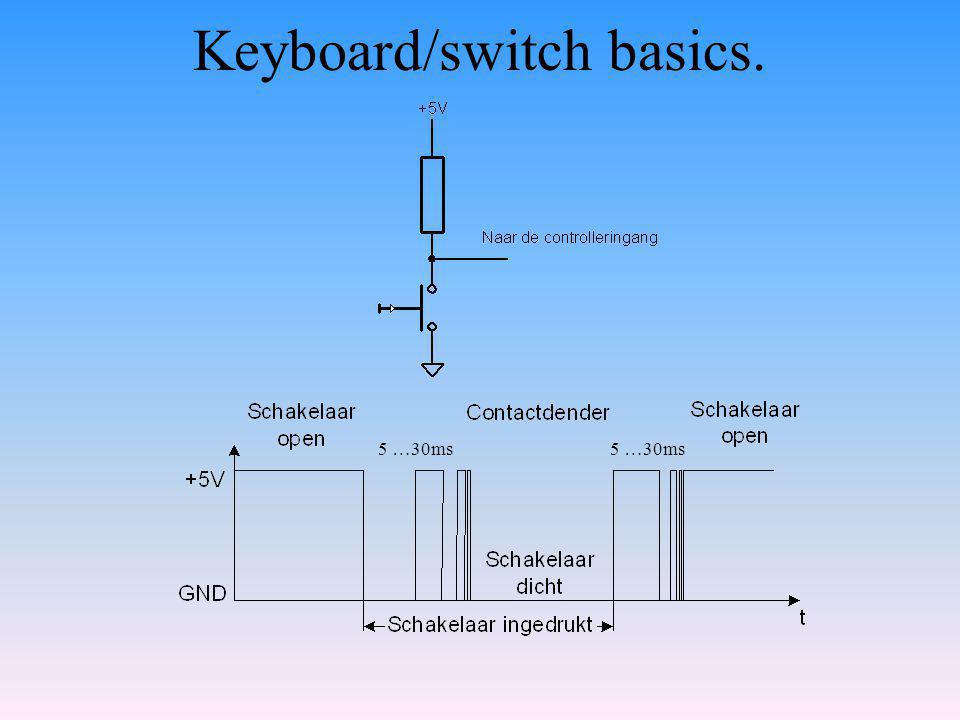 Keyboard/switch basics.