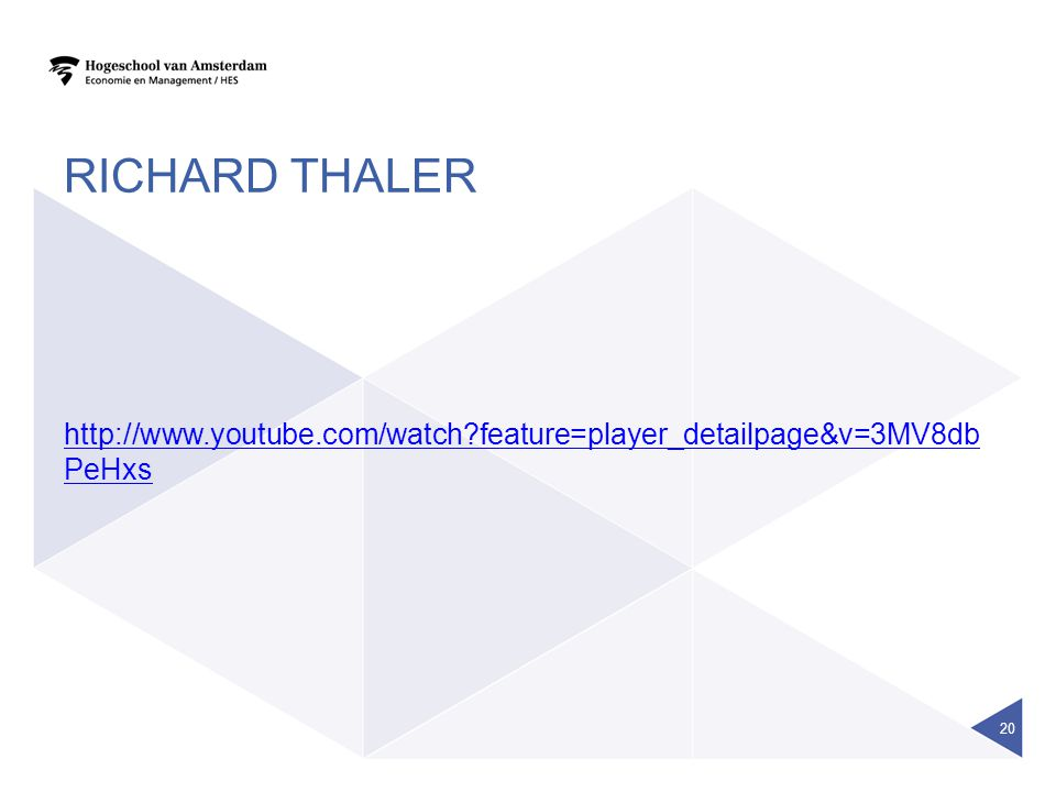 Richard thaler http://www.youtube.com/watch feature=player_detailpage&v=3MV8dbPeHxs