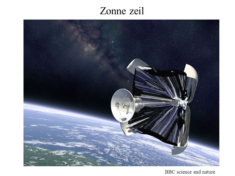 Zonne zeil BBC science and nature