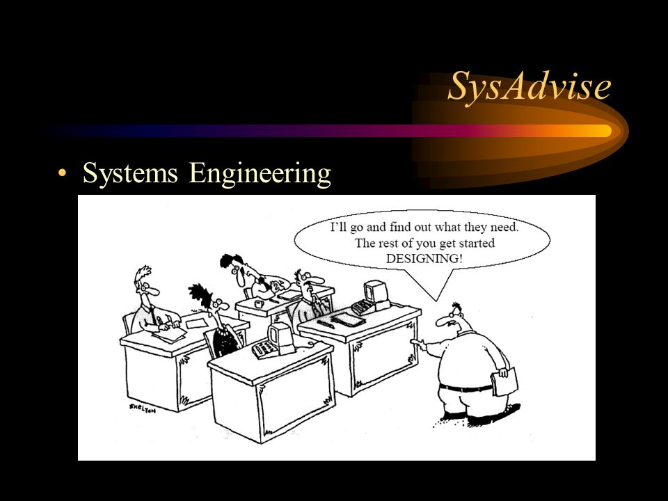 SysAdvise Systems Engineering