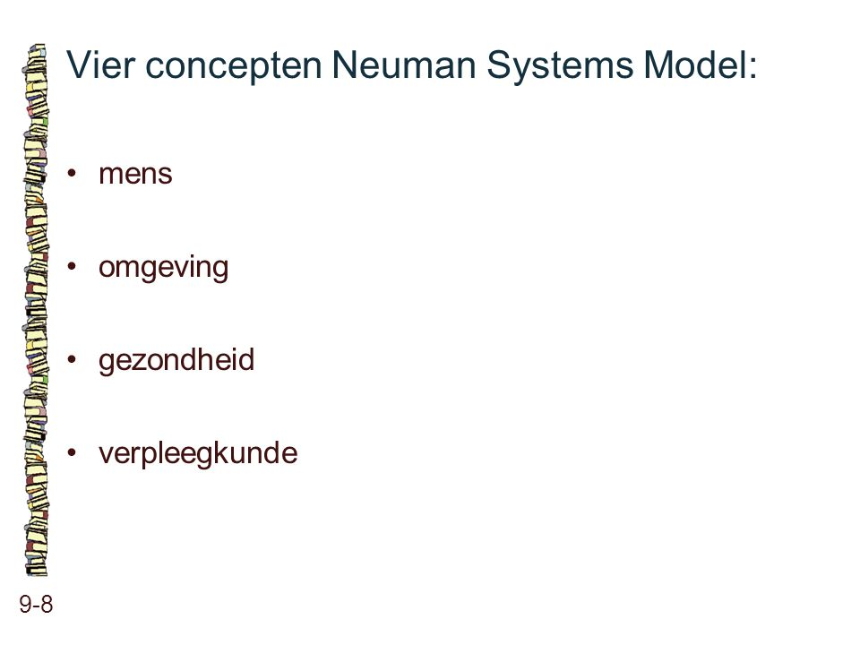 Vier concepten Neuman Systems Model:
