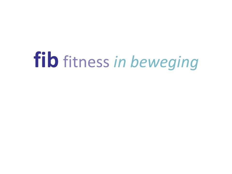 fib fitness in beweging
