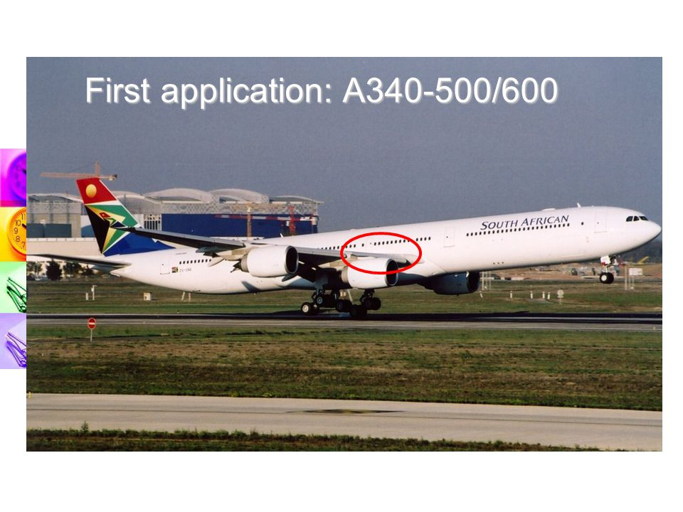 First application: A340-500/600