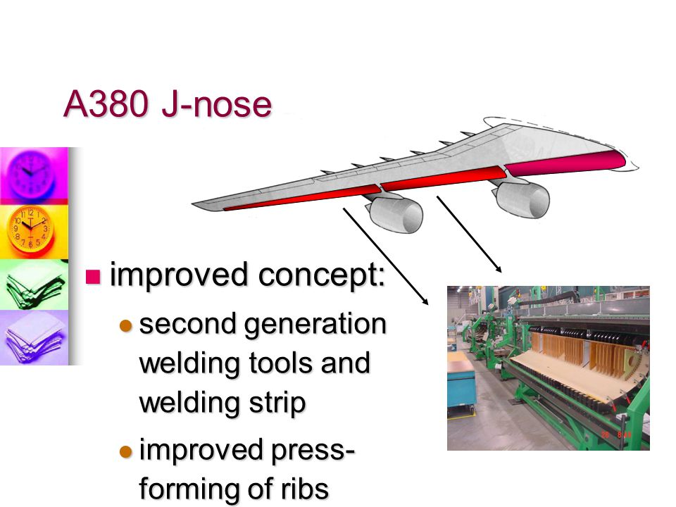 A380 J-nose improved concept: large volume production