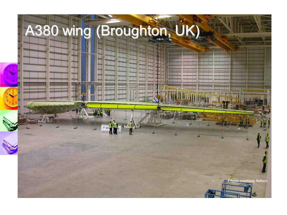 A380 wing (Broughton, UK) Photo courtesy Airbus