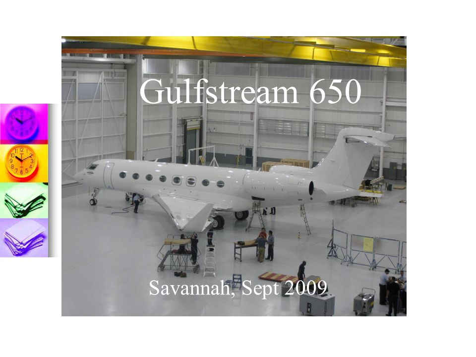 Gulfstream 650 Savannah, Sept 2009