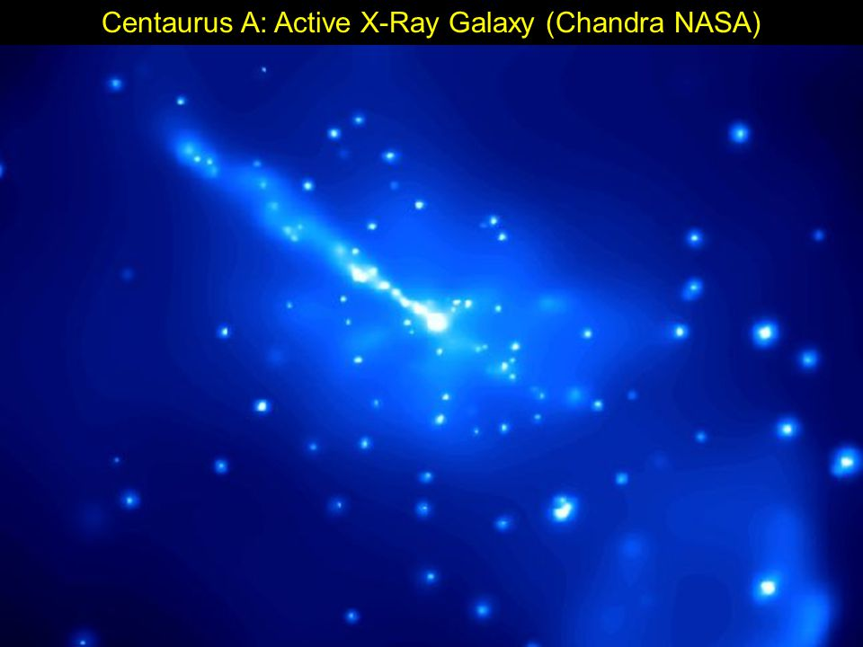 Centaurus A: Active X-Ray Galaxy (Chandra NASA)