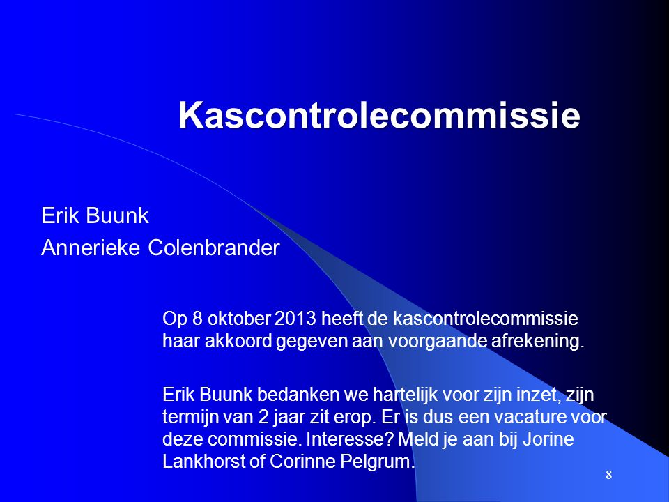 Kascontrolecommissie
