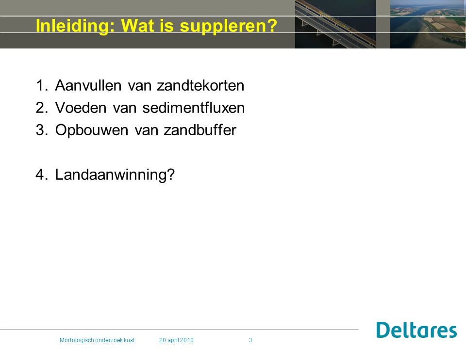Inleiding: Wat is suppleren