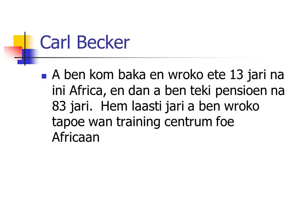 Module 9 Lesson 9 Carl Becker.