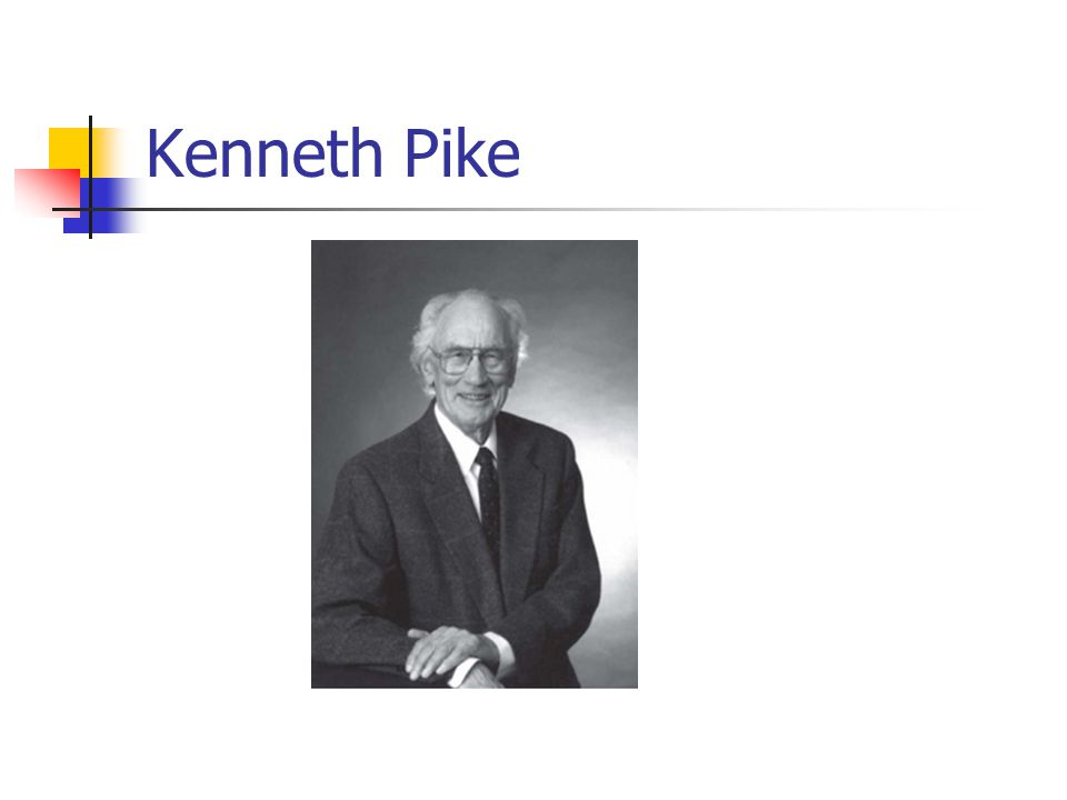 Kenneth Pike