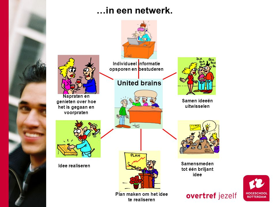 …in een netwerk. United brains