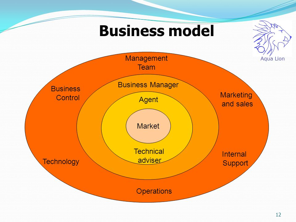 Business model Management Team Business Manager Business Control