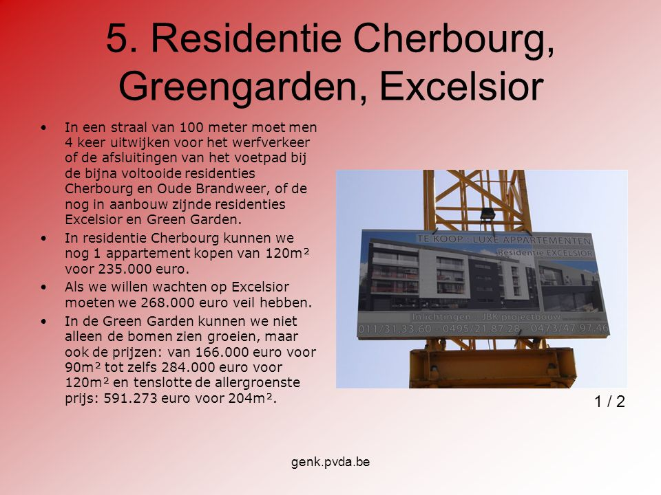 5. Residentie Cherbourg, Greengarden, Excelsior