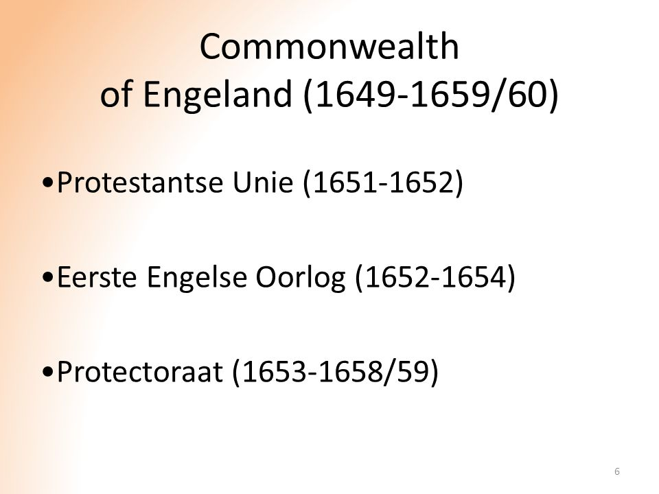 Commonwealth of Engeland (1649-1659/60)