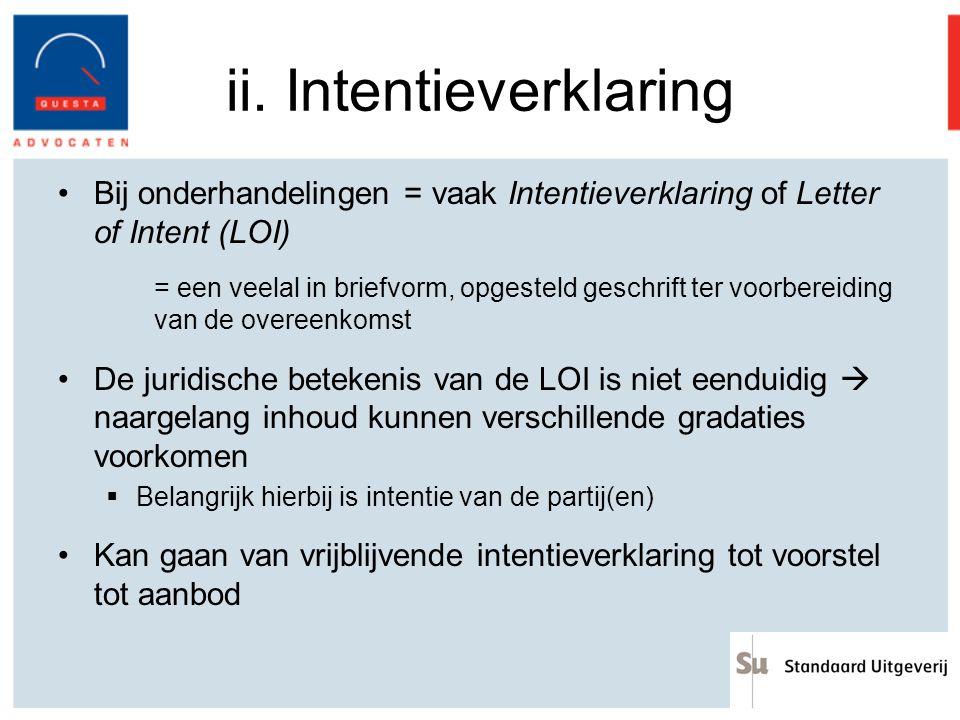 betekenis intentieverklaring Dirk Beeckman Mathias Baert   ppt download