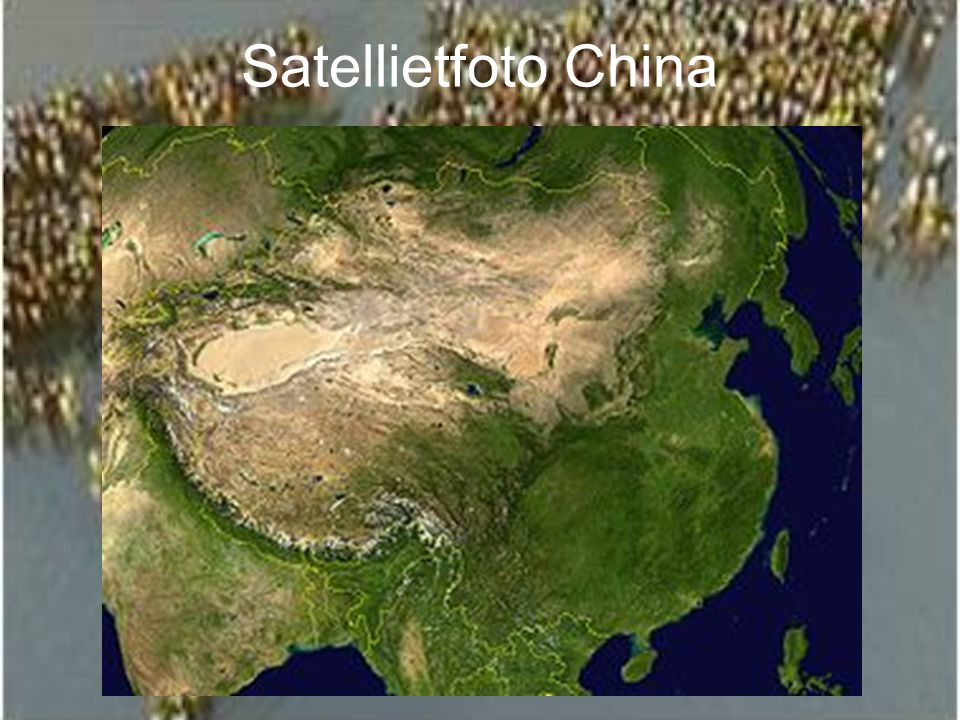 Satellietfoto China